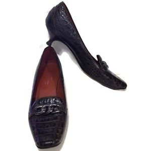 Donald J Pliner Couture Kitten Heel Pumps Size 10M